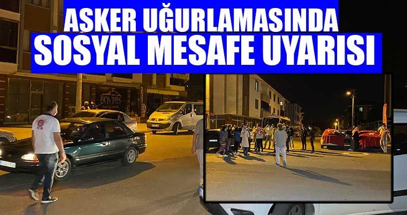Konvoylar Polisin Uyarısı İle Dağıldı