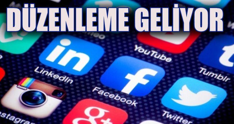 Sosyal Medyaya Düzenleme Geliyor
