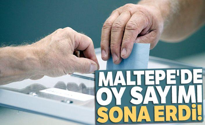 Maltepe'de oy sayımı sona erdi!