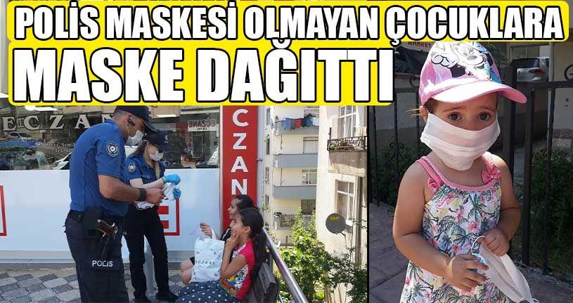 Polis Ekipleri Maske Denetimi Yaptı