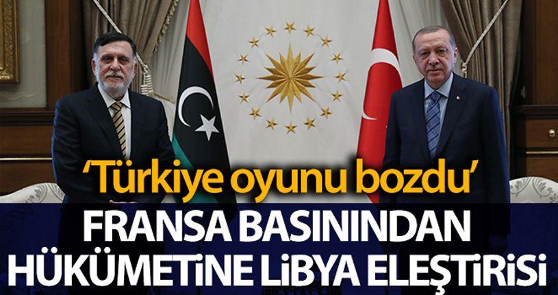 Fransız yayın organı France Inter: 'Türkiye, Fransa'nın Libya oyununu bozdu'