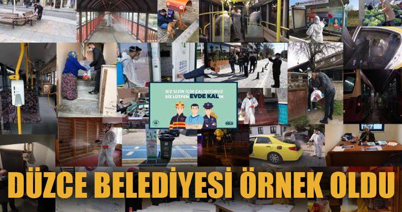 Düzce Belediyesi Türkiye'ye Örnek Oldu