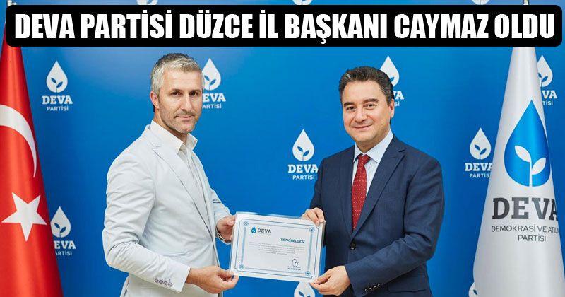 Deva Partisi'nde Sürpriz AKP'li İsim