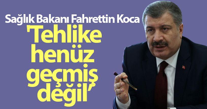 Sağlık Bakanı Fahrettin Koca: tedbirlere hassasiyetlere uyulmalı'