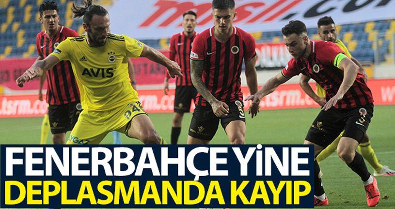 Gençlerbirliği 1 - 1 Fenerbahçe