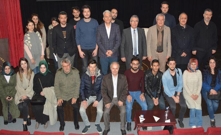 Düzce Üniversitesi'nde Sezai Karakoç Anlatıldı