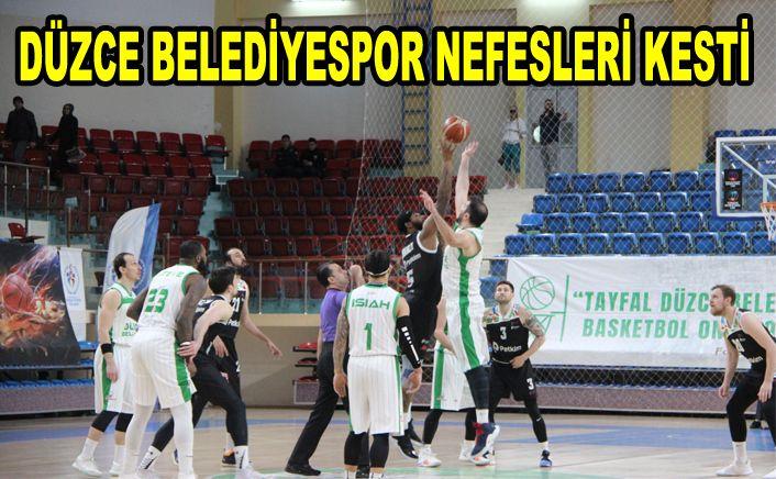 Düzce Belediyespor – Petkimspor'u 96-91 skorla yendi