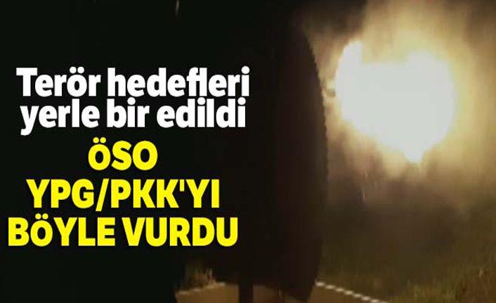 ÖSO, YPG/PKK'yı böyle vurdu