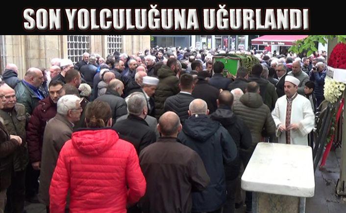 Orhan Kapoğlu'na Son Görev