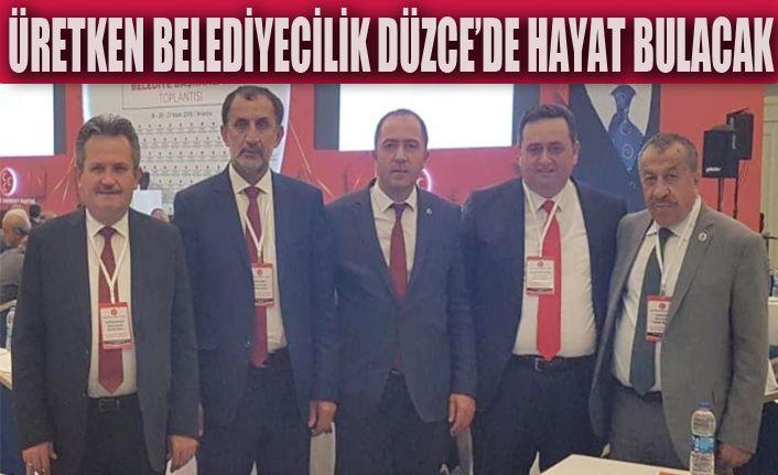 Başkanlar Antalya Kampında