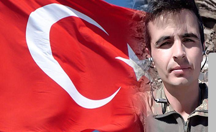 Şehit asker Er Erhan Çiyapul  memleketi Iğdır'da toprağa verildi