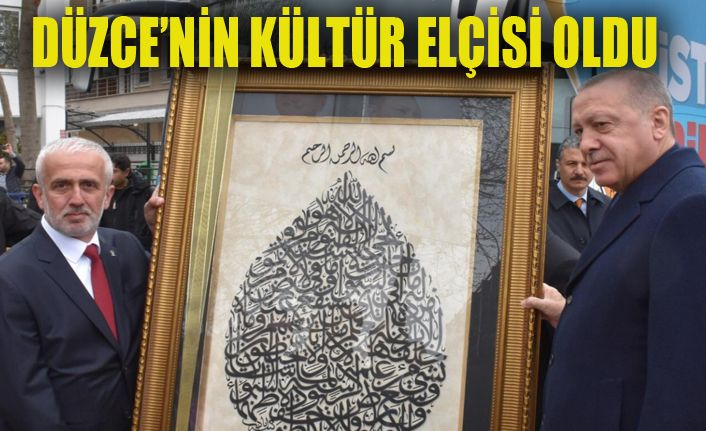 İstanbul'da sergi açıyor