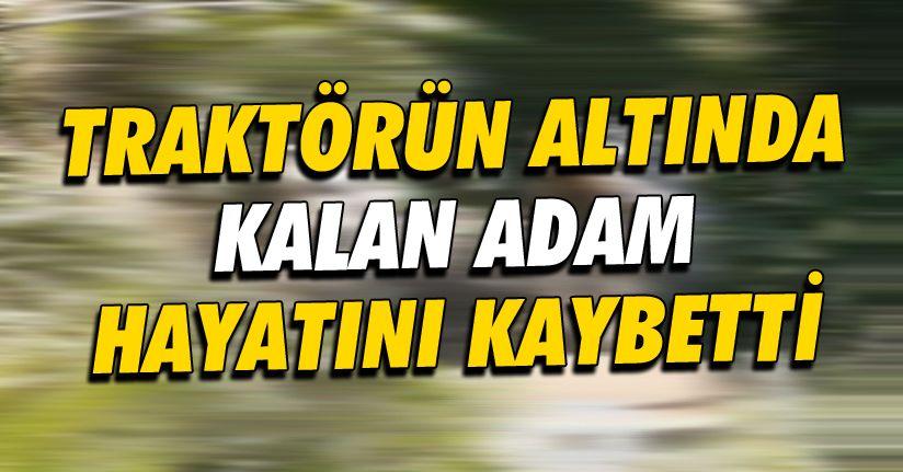 Akçakoca'da traktör devrildi: 1 ölü
