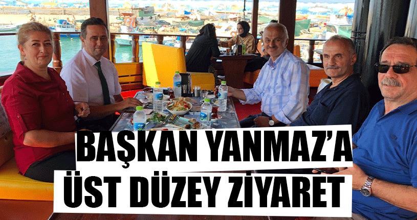 Başkan Yanmaz'a Üst Düzey Ziyaret