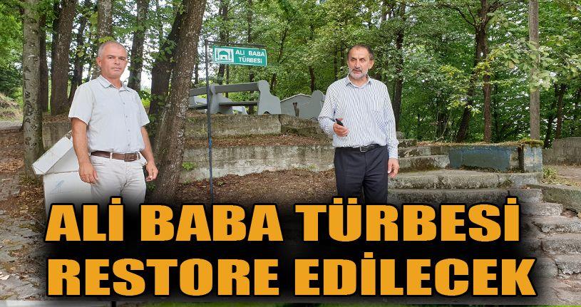 Ali Baba türbesinde restorasyon yapılacak