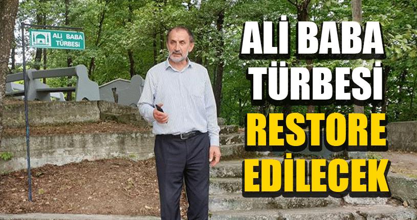 Ali Baba Türbesi Restore Edilecek
