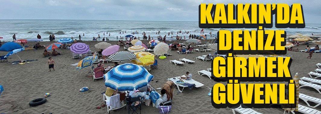 Kalkın Plajı Temizliği İle Dikkat Çekiyor
