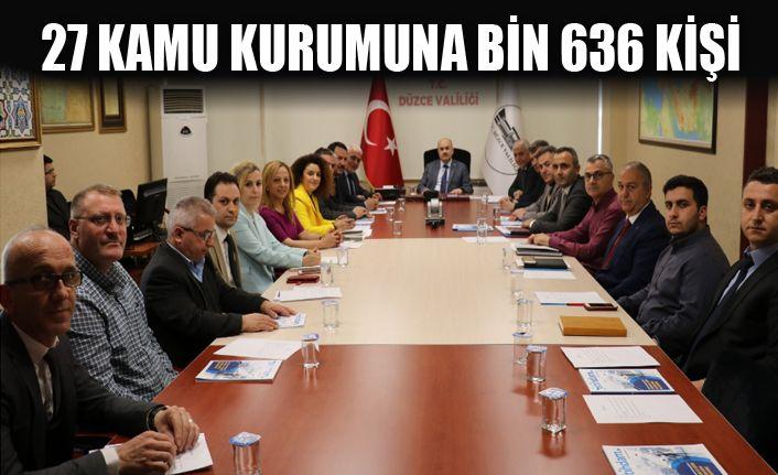 İlk 3 ayda 754 kişi işe yerleştirildi