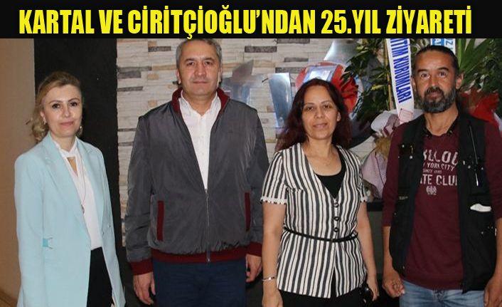 Kartal ve Ciritçioğlu, 25. yılı unutmadı
