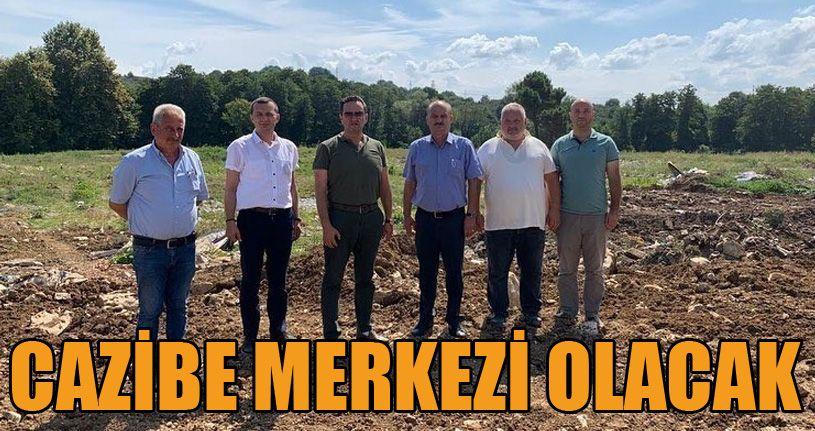 Akçakoca'da turizmde cazibe merkezi olacak
