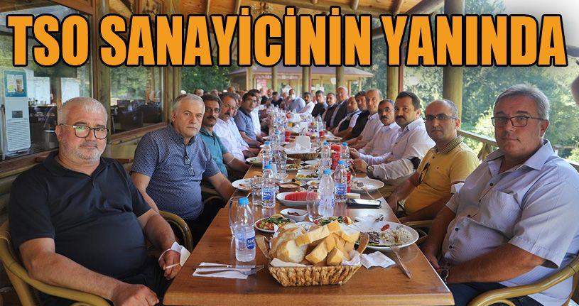 """DTSO Başkanı Şahin, """"Çilimli OSB'nin yüzde 80'ini Orman Ürünleri firmalarına verdik"""""""