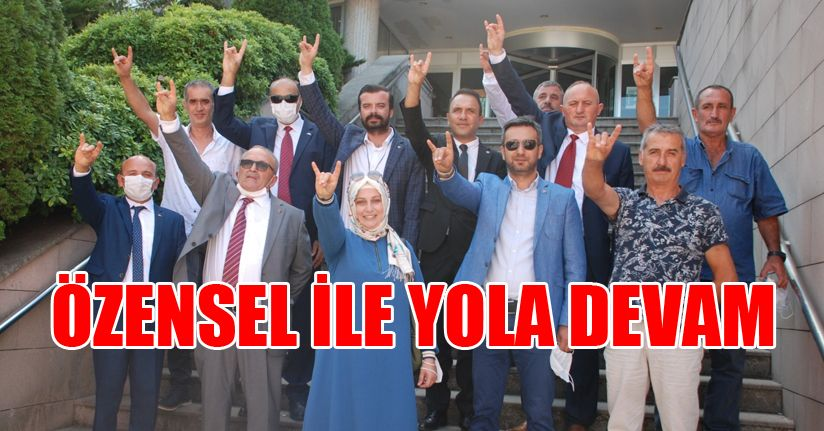 Akçakoca'da MHP Özensel ile devam dedi
