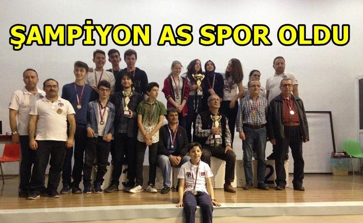 As Gençlik ve Spor Kulübü şampiyon oldu