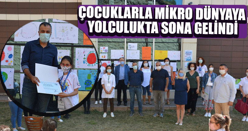 """Mikrodünyaya Yolculuk-3"""" Son Durağa Ulaştı"""