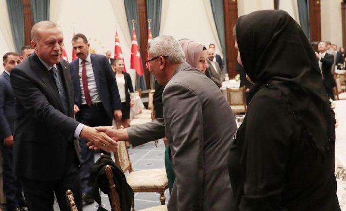Cumhurbaşkanı Külliyede ağırladı