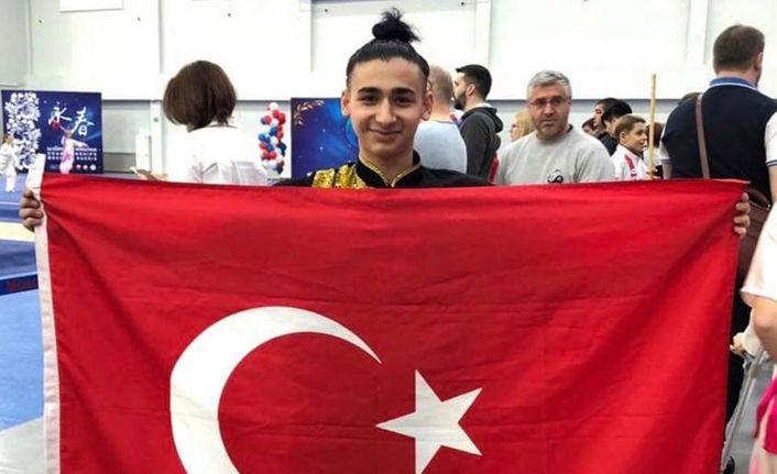 Yağızhan Mustafa Ödemiş Avrupa Şampiyonu