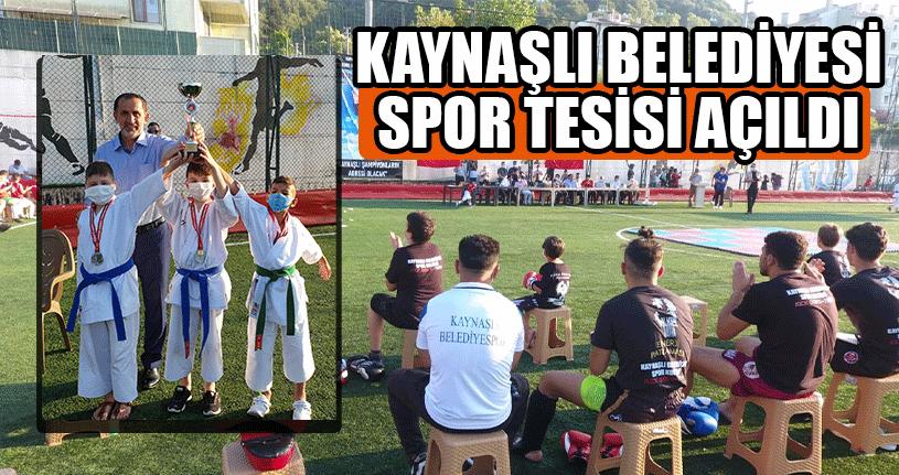 Kaynaşlı Belediyesi Spor Tesisi Açıldı
