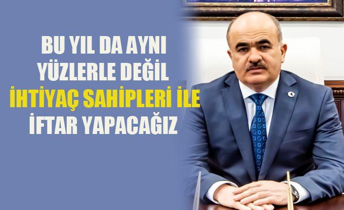 Vali Dr. Zülkif Dağlı'nın Ramazan Ayı Açıklaması