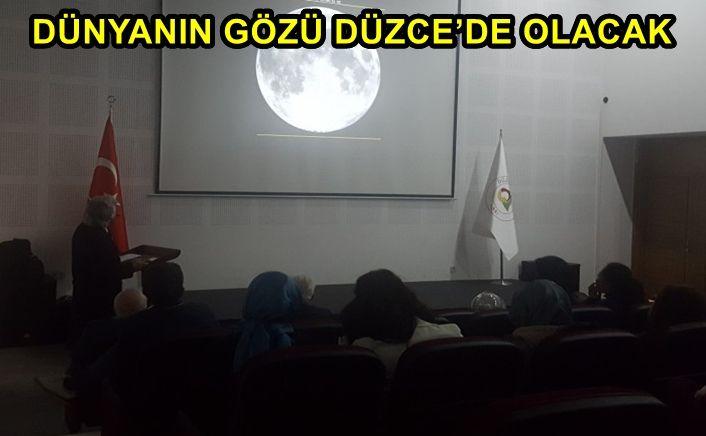 Uluslar arası Astronomi Birliği'de bu şenliği kabul etti