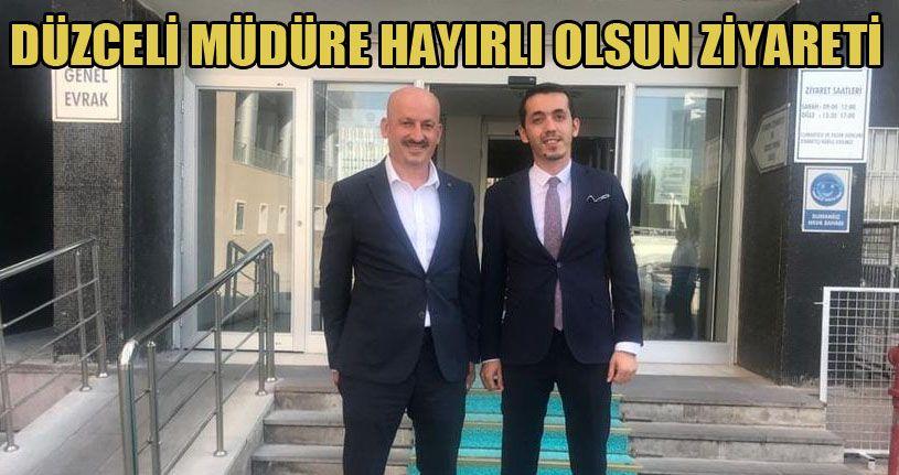 Başkan Ercan'dan Daire Başkanı Altınkayık'a ziyaret