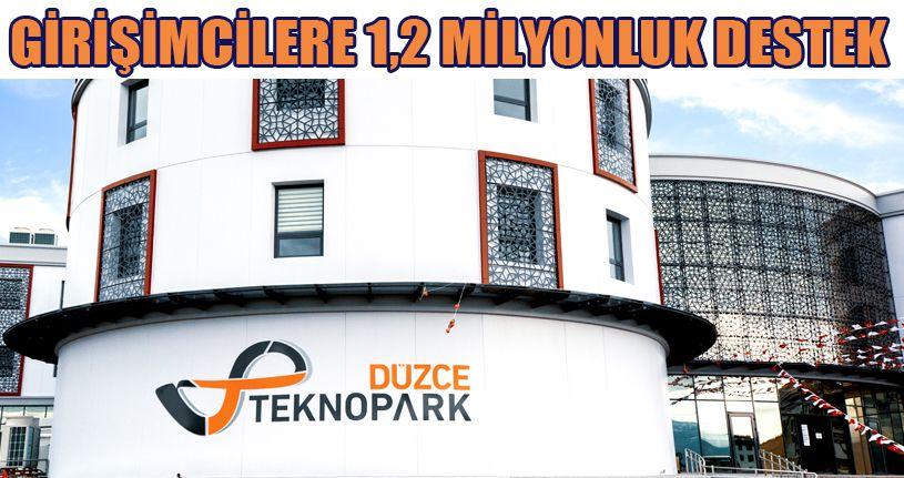 Girişimcilere 1,2 Milyon TL'lik Destek