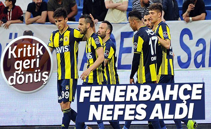 Fenerbahçe Kasımpaşa'da 3 puanı 3 golle ald