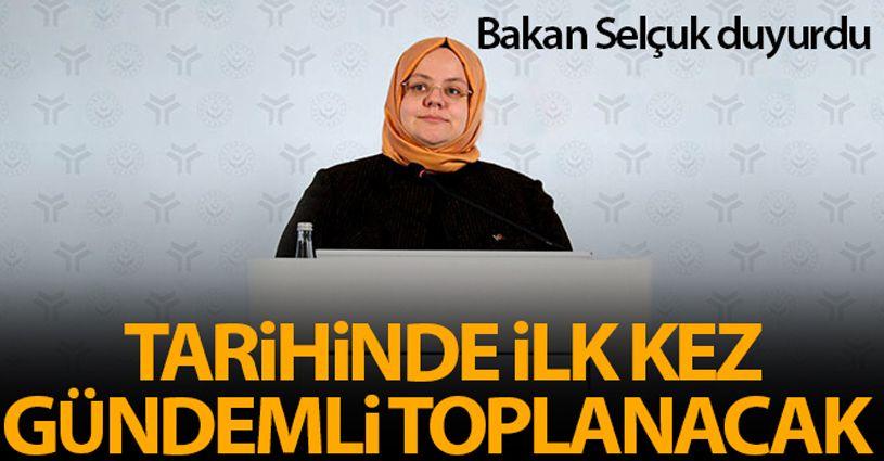 Bakan Selçuk: 'KPDK tarihinde ilk kez gündemli olarak 15 Eylül'de toplanacak'