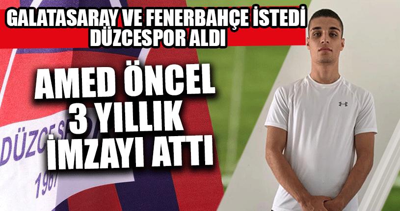 Galatasaray ve Fenerbahçe İstedi Düzcespor Aldı