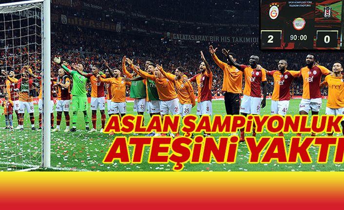 Galatasaray:2-0 Beşiktaş