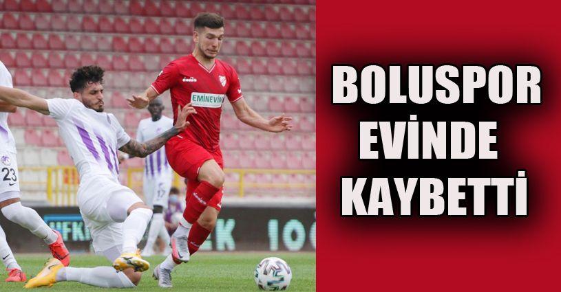 Boluspor: 0 - Ankara Keçiörengücü: 1