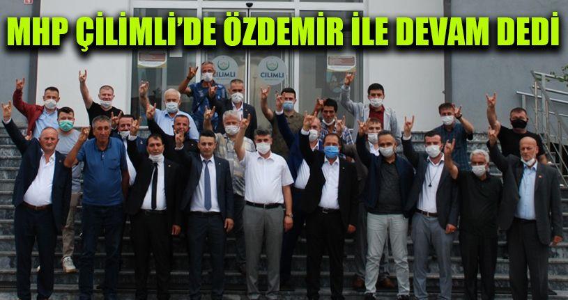 MHP Çilimli'de Özdemir İle Devam Dedi