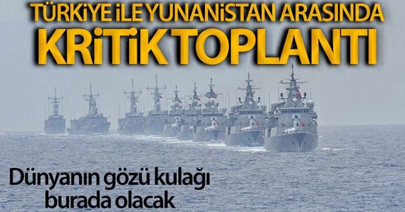 Türkiye-Yunanistan askeri heyetleri teknik toplantı yapacak