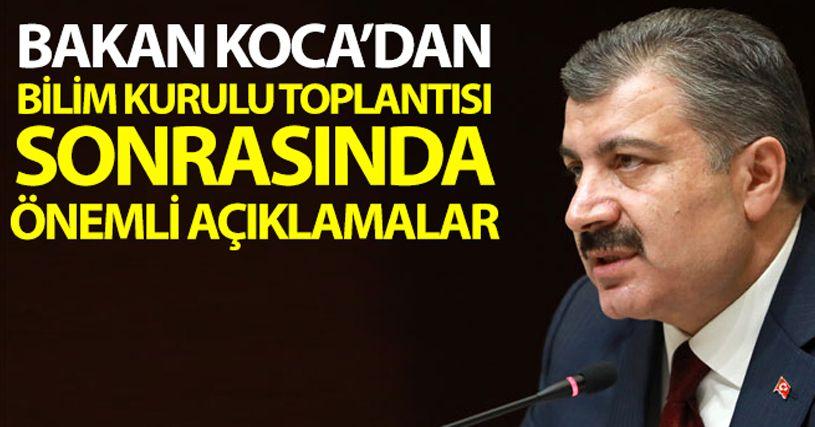 Türkiye'de son 24 saatte korona virüsten 63 kişi hayatını kaybetti