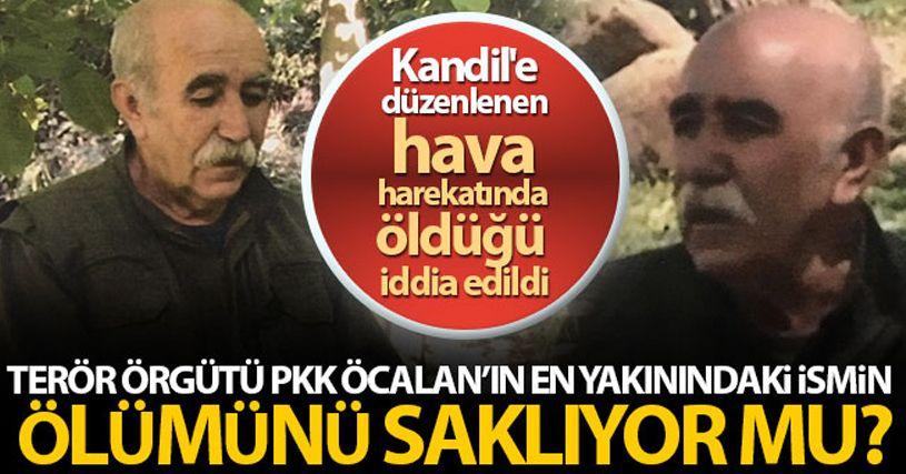 PKK Öcalan'ın en yakınındaki ismin ölümünü saklıyor mu?