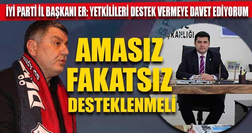 İYİ Parti'den Kapoğlu ve Düzcespor'a Destek