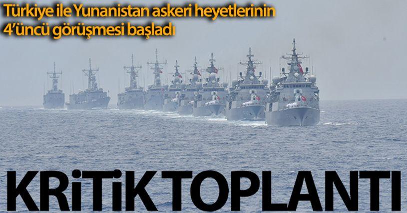Türkiye-Yunanistan askeri heyetleri arasında teknik toplantıların 4'üncüsü NATO Karargahı'nda başladı