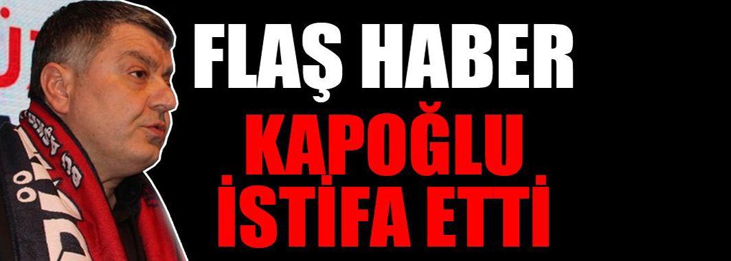 Düzcespor Başkanı Gökhan Kapoğlu istifa etti