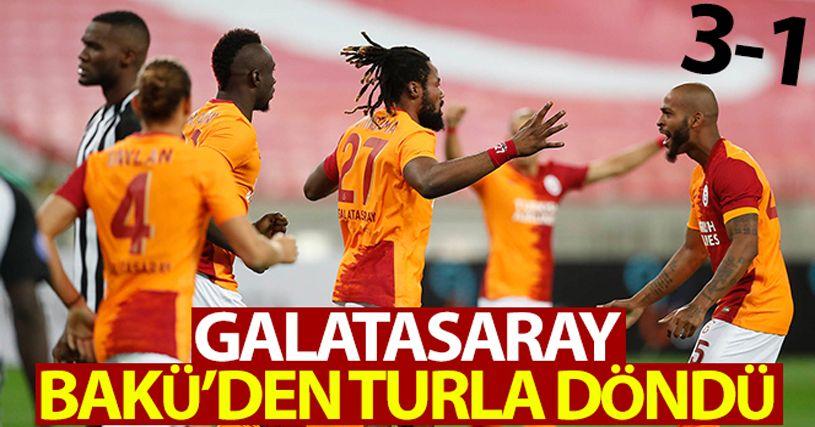Neftçi 1 - 3 Galatasaray