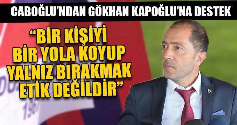 MHP'den Gökhan Kapoğlu'na Destek