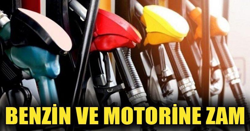Benzin ve motorinin litre fiyatına zam yapıldı